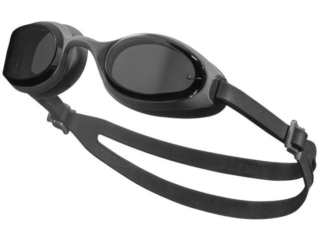 Nike Swim Hyper Flow Lunettes de protection, dark smoke grey